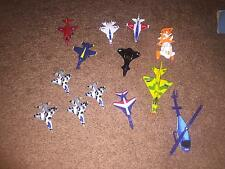 Mixed lot of 31 Tootsitoy, Matchbox, high speed, Helicopters, Airplanes, jets