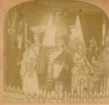 India's Princess Sophia @ 1894 Columbian Exposition - Odd display w/ Desi Liquor