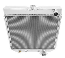 1967 68 69 70 Ford Mustang 4 Row Core Champion Cooling Systems Aluminum Radiator