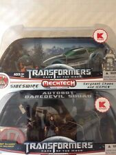 TRANSFORMERS HUMAN ALLIANCE Bumblebee And Sideswipe DOTM DARK MOON