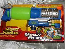 New Super Soaker Quick Blast Water Blaster Pump Water Gun Pistol BNIB