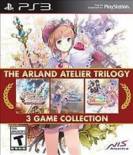 Arland Atelier Trilogy Sony PlayStation 3 PS3 Game+Case
