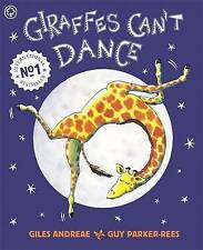 Giraffes Can't Dance by Giles Andreae Paperback New Perfect Book 9781841215655