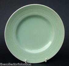 Enoch Woods Green Beryl Pattern Large Size Dinner Plates 25.5cm Dia Look in VGC