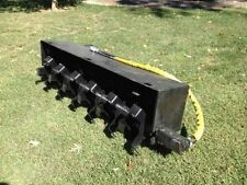 New 72 Inch Skidsteer Tiller On Sale Now! Bobcat Takeuchi Cat New Holland Deere