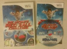 ULTIMATE RED BALL CHALLENGE WIPEOUT - COMPLETE NINTENDO WII PAL FREE POST! RARE!
