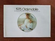 Vintage 1975 Oldsmobile All Models 31 Page Full Color Brochure - Toranado