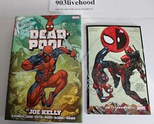 MARVEL COMICS DEADPOOL OMNIBUS SPIDER MAN ISN'T BROMANTIC  TPB SIGNED JOE KELLY