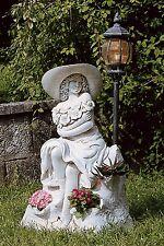 Garten,Statuen,Brunnenfigur,Dekoration,Dekor,Decor,Figur,GartenLampe,Lampe,161kg