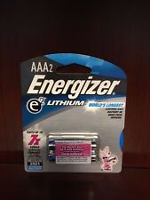 24 x Energizer AAA Lithium Batteries, Lasts Up To 7x Longer!