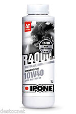 "Huile Ipone "" R4000RS 10W40"" semi-synthèse, 1L"