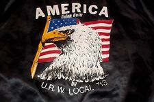 U.R.W.Local 713 Decatur IL United Rubber Cork Linoleum Plastic Union Jacket Coat