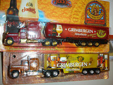 2 verschiedene WELTBIERSERIE TRUCK OF THE WORLD GRIMBERGEN ABTEIBIER     SET 2 !