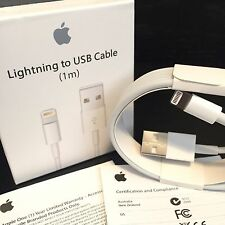 Original Apple 1M Lightning To USB Charge Sync Cable for Apple iPhone 5 6 6+