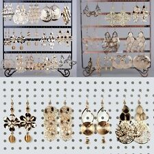 Wholesale Lots 12 Pairs Bulk Jewellery Lots Gold Dangle Earrings Hot Eardrop
