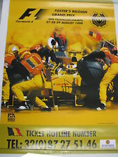 Poster Foster's Belgian Grand Prix Spa-Francorchamps 2000 (PBE)