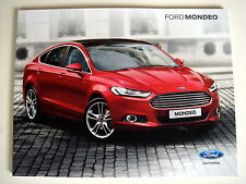 Ford . Mondeo . Ford Mondeo . November 2014 Sales Brochure