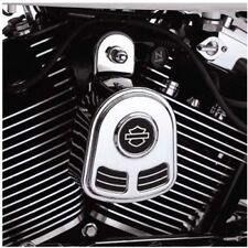 HARLEY LOGO HORN COVER for 92-12 Harley Softail Dyna Glide Big Twin Electra