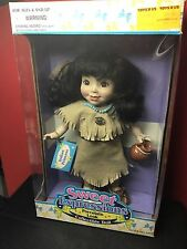 1995 sky kids sweet expression porcelain look INDIAN PRINCESS DOLL MINT IN BOX