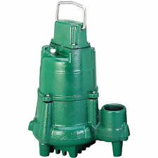 Zoeller N98 - 1/2 HP Cast Iron Submersible Sump Pump (Non-Automatic)