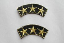 #2325 Lot 2Pcs Military,United States Army Badge Embroidery Applique Patch