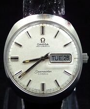 1970 OMEGA AUTOMATIC DAY& Q-DATE SEAMASTER COSMIC REF.166.035 WATCH SERVICE 752