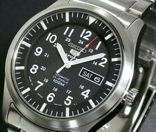 SEIKO 5 SNZG13 SNZG13J1 Army Automatic Men's Made in Japan New