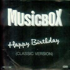 "7"" MUSICBOX/Happy Birthday (Austria)"