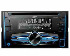 JVC radio double DIN usb aux in toyota yaris verso p1 Facelift 03/2003-12/2005