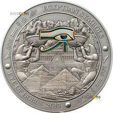 20$ 2015 Palau - Ägyptische Symbole / Egyptian Symbols - Eye of Horus 3 oz