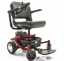 LITERIDER Envy Travel Powerchair Golden GP162 + Extended Warranty & Accessories