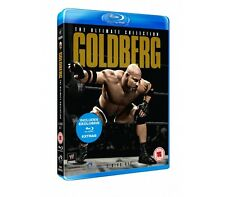 Official WWE Goldberg : The Ultimate Collection Blu-Ray - 2 disc