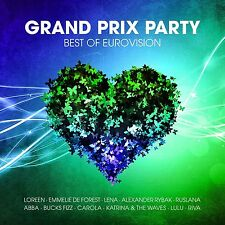 GRAND PRIX PARTY-BEST OF EUROVISION 2 CD NEU