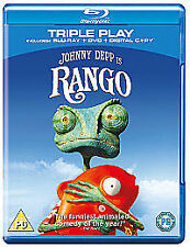 Rango (Triple Play - Blu-ray + DVD + Digital Copy)  Johnny Depp, Timothy Olyphan