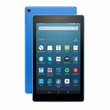 All-New Kindle Fire HD 8 Tablet, HD Display, Wi-Fi, 16GB - Special Offers (Blue)
