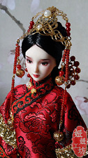 Handmade Qing/Han/Tang Dynasty Barbie Kurhn Traditional Chinese Hair Accessory#7