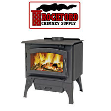 Wood Burning Stove Timberwolf 2100 EPA 85% Eff. + Door, Legs, Ash Pan, Blower