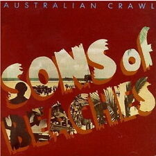 "12"" LP Australian Crawl Sons Of Beaches (Shut Down, Downhearted) 80`s EMI"