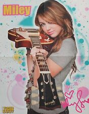 MILEY CYRUS - A2 Poster (XL - 40 x 52 cm) - Fan Sammlung Clippings Ausland USA
