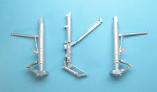 Su-35S Flanker Landing Gear for 1/72nd Scale Hasegawa Model SAC 72098