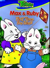 NEW DVD // TREEHOUSE // MAX AND & RUBY // PLAYTIME MAX //  6 STORIES
