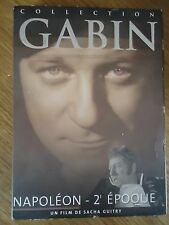 NAPOLEON 2E EPOQUE * SACHA GUITRY GELIN MORGAN COLLECTION 35 DVD JEAN GABIN