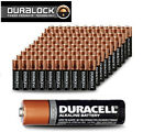 100 AA Duracell Alkaline Batteries Brand New  - DURALOCK Exp2021