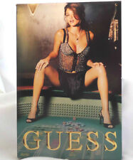 Guess 2004 Models Jumbo Playing Cards SEALED Pinup Sexy Ellen Von Unwerth