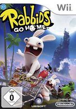 Nintendo Wii +Wii U RAYMAN RABBIDS GO HOME DEUTSCH TopZustand