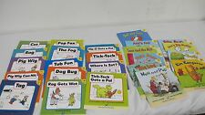HOP BOOKS  (24) HOOKED ON PHONICS BEGINNERS READERS  LEVEL 1 & SUPPLEMENT LEVEL