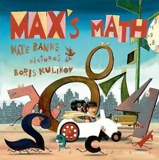 Max's Math 4 by Kate Banks (2015, Picture Book)