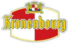 "Kronenbourg Beer Alcohol Car Bumper Window Locker Sticker Decal 5""X4"""