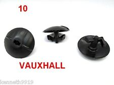 Vauxhall Vectra Astra Corsa Bonnet Dashboard Panel Trim Fastener Black Clip TT54