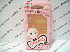 Fing'rs Girlie Nails #31123 Flowers Pink Tips
